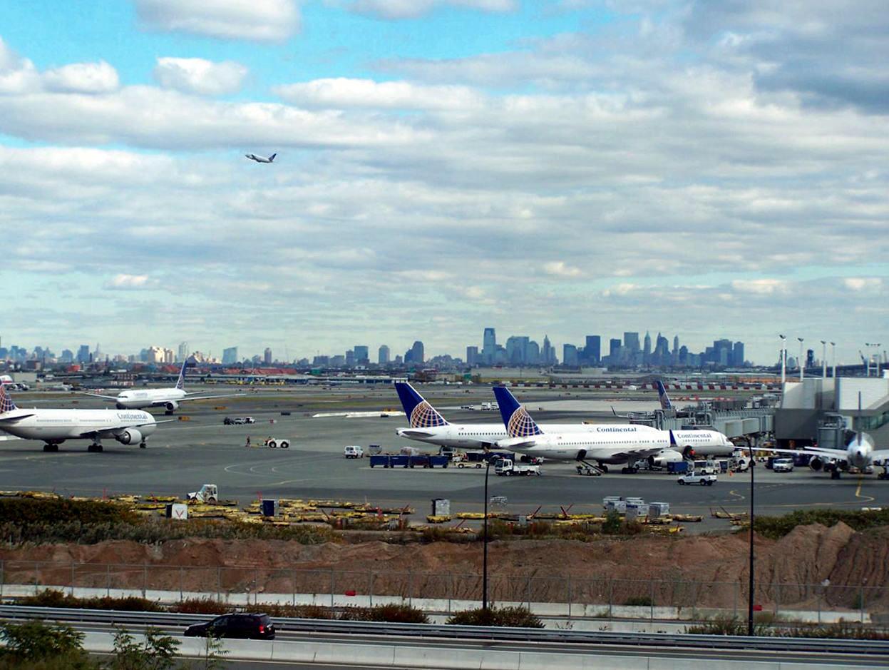 Aeroporto New York Newark : Da per newark liberty airport ewr new york city usa